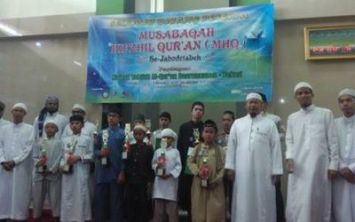 Musabaqah Hifdhil Qur'an (MHQ) se Jabodetabek