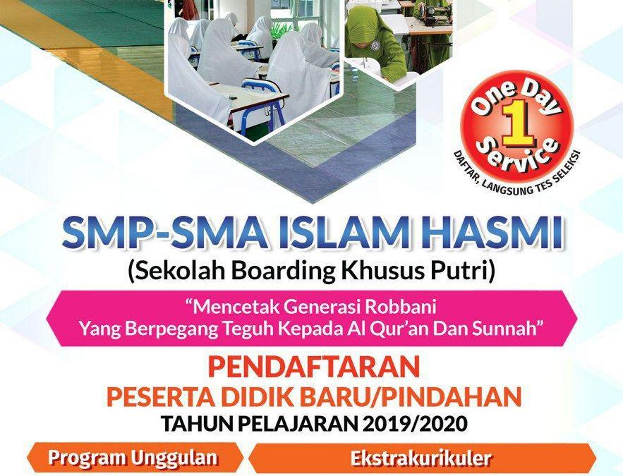PENERIMAAN PESERTA DIDIK BARU (PPDB) 2019-2020